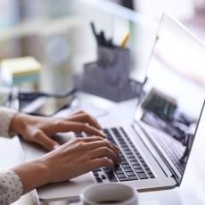Am Computer schreiben