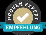ProvenExpert-Qualitaetssiegel